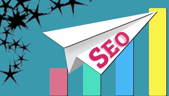 Papierové lietadielko, symbol úspechu, graf, SEO.png