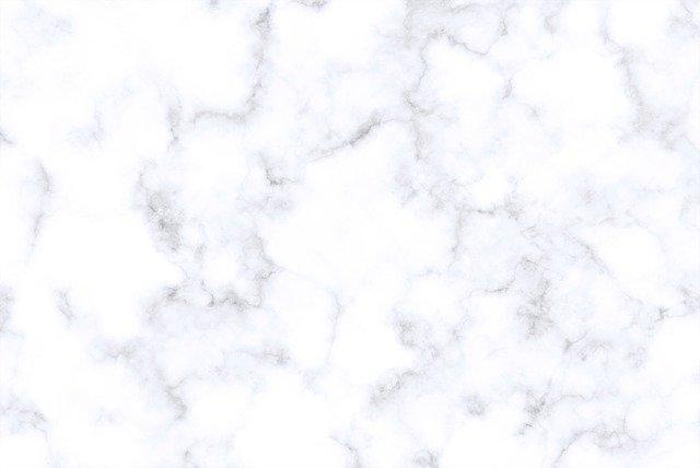 Detail na biely mramor